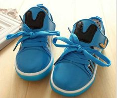 Idr 100k Bunny blue shoe