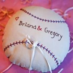 Vintage Baseball Wedding