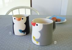 Penguin Mug #kawaii #home #kitchen