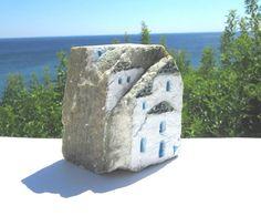 Original Rock Art Handpainted Stones OOAK Painted by IkarianArt