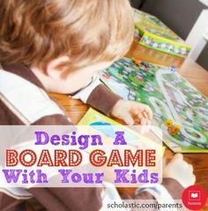 7 tips to help your family design a board game together.