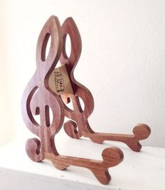 Mahogany & Maple Guitar Stand by DolenzAndDaughters on Etsy #GuitarStand