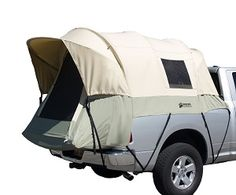Kodiak Canvas Short Truck Bed Tent - This pickup truck bed tent is made of a superior, marine-grade, 100 % cotton duck Hydra-Shield canvas.