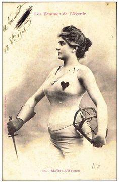 Les Femmes de l'Avenir 1902 - Women of the Future 1902