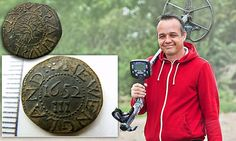 When it was minted 350 years ago, there wouldn't have been much change from a slap-up meal and a few of pints of ale. Today the silver threepenny coin that amateur treasure-hunter John Stoner dug up in a farmer's field would probably buy the entire farm.