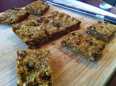 vegan trail mix protein bars