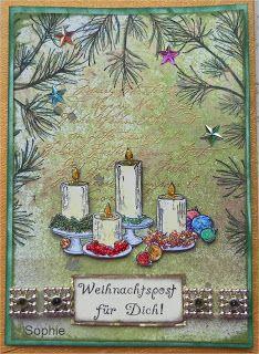 Sophie's Art: Weihnachtspost  :-)