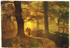 Bernie Fuchs, oil on canvas, 24x26, c. 1992.