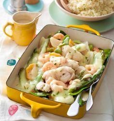 Blanquette de poisson au curry - les meilleures recettes de cuisine d'Ôdélices