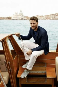 Fifty Shades of Grey's Jamie Dornan suits up for Hogan SS14