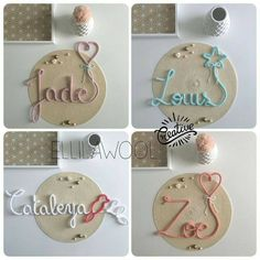 Baby Crafts, Crafts For Kids, Spool Knitting, Make Do And Mend, Wire Crafts, My Scrapbook, Diy Arts And Crafts, Wire Art, Crochet Designs