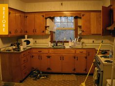 Before & After: A Kitchen Makeover with Stunning DIY Countertops — Kitchen Remodel