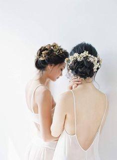 fine art bridal fashion