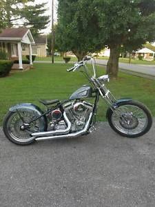 1999 Custom Built Motorcycles Bobber