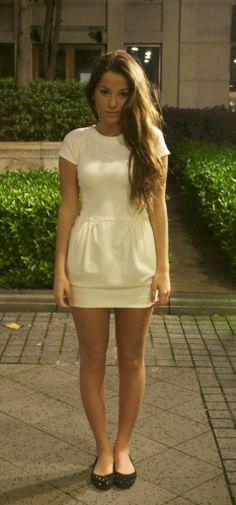How I love a white dress