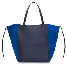Celine - Bags - Phantom Cabas Tote Bag - Navy / Royal Blue