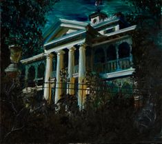 Disney's Haunted Mansion Art   Haunted Mansion Painting by yensidtlaw1969 on deviantART