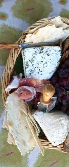 Cheese Tray with great assortment  @entertainingwithbeth