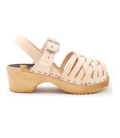 Swedish Hasbeens Kids Braided Sandals