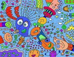 Doodle Art by Corey Couturier