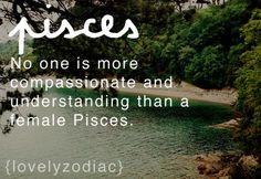 Pisces: The Female Pisces.