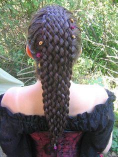 14 Braids That Might Be Better Than Katniss' via Brit + Co