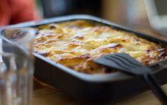 Lasagne ai 5 formaggi - Suntuoso piatto di pasta al forno ricco appunto di cinque formaggi, perfetto per il Pranzo di Natale e per ogni altra occasione di festa