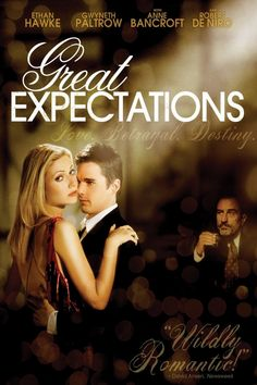 Get Great Expectations DVD and Blu-ray release date, trailer, movie poster and movie stats. The classic Charles Dickens tale about a poor young man named Pip with big dreams is given the modern treatment as the fellow's name is changed to Finn and his. Gwyneth Paltrow, Tv Series Online, Movies Online, Episode Online, Top Movies, Movies And Tv Shows, Great Expectations Movie, Little Dorrit, Movie Posters