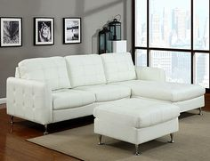 Amanda Sectional White $799.99