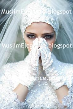 Ready to wear bridal #hijab with embellished lace contact us at thepurplesharepoint@gmail.com