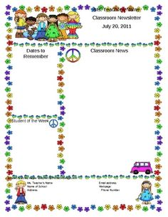 groovy themed classroom   Classroom Forms and Substitute Info. - Rock and Roll Kids Theme - Mrs ...