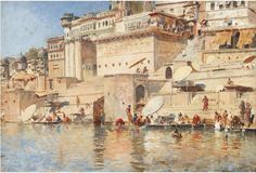 """Benares"", price at auctions for Edwin Lord WEEKS"
