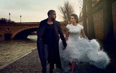 Kim & Kanye for Vogue.
