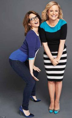 Team Golden Globes: Tina Fey and Amy Poehler have revealed how they're going to tackle the big presenting on Sunday