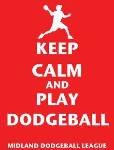 Dodgeball- Midland. Bahaha