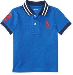 #polo #shirt #afflink Boy Mesh Polo Shirt - $10.99 http://shopstyle.it/l/g78o