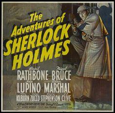 The Adventures of Sherlock Holmes starring Basil Rathbone and Nigel Bruce.