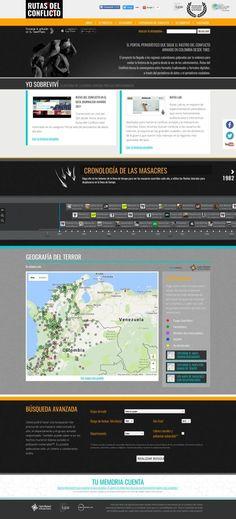 Screenshot http://rutasdelconflicto.com/ - created via https://pinthemall.net