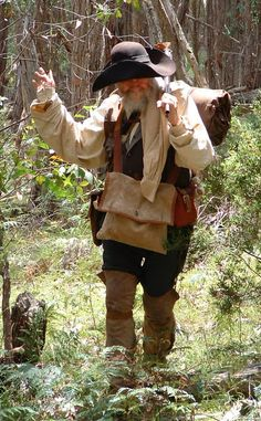 A Woodsrunner's Diary: The Early to Mid 18th Century Woodsman & Woods Woman. Who & what they were.