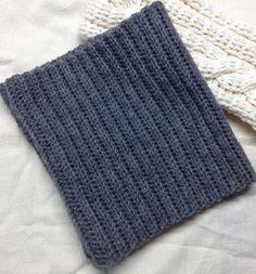 中長編みのゴム編み風ネックウォーマーの作り方|編み物|編み物・手芸・ソーイング|ハンドメイドカテゴリ|アトリエ