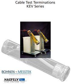 Série de terminações KEV #SoluçãoBM  A Série terminações KEV são usados ??para testes AC, bem como para a descargas parciais e medições tan delta em cabos de média tensão de plástico isolado. Testes de terminações de cabos são isolados a óleo. Suas principais características incluem fácil manuseio, tempo de preparação de cabo curto e muito curto, de grande importância em aplicações de teste de rotina.   Saiba mais: http://bohnen.com.br/Produtos/317/KEV.pdf