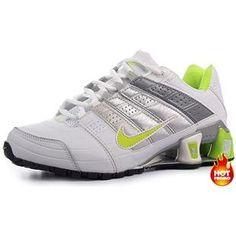 www.asneakers4u.com Womens Nike Shox NZ 2 White Green Black