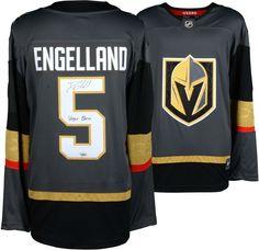 b67be7a89e5 Deryk Engelland Vegas Golden Knights Fanatics Authentic Autographed Black  Fanatics Breakaway Jersey with Vegas Born Inscription