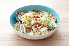 One-Pot Tomato Onion Linguine - Martha Stewart's 1-Pot Pasta Hack