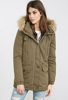 Hooded Puff Parka | FOREVER 21 - 2000067263
