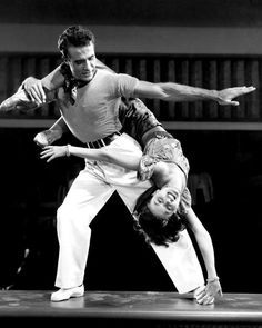 Ricardo Montalban and Cyd Charisse