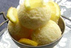 Joghurtos citromfagylalt
