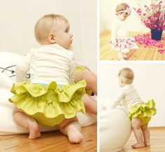 Adorable (and comfortable) little diaper rompers for Easter...