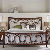Hooker Furniture Marquette Fretwork Bed in Cherry