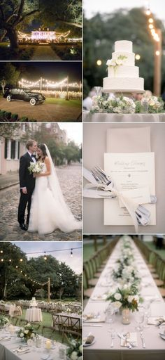 Inspirational Wedding Ideas #210: Romantic Charleston Fall Wedding - http://www.diyweddingsmag.com/inspirational-wedding-ideas-210-romantic-charleston-fall-wedding/